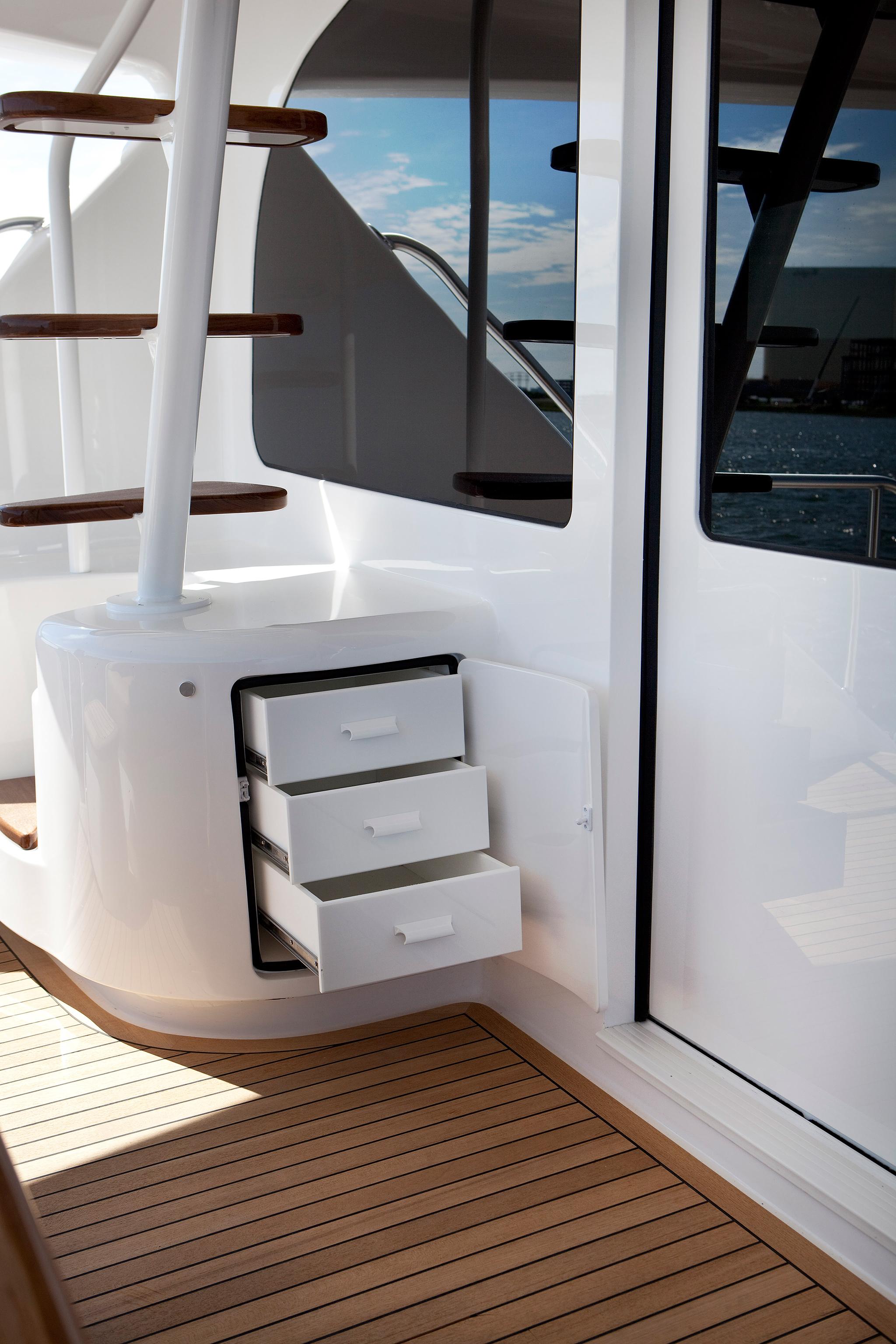 viking yachts 92 enclosed bridge